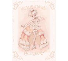 Sweetcakes Burlesque Photographic Print