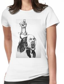 Trafalgar Square Protester! Womens Fitted T-Shirt