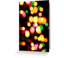 Lights Lights Greeting Card