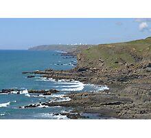 Cornwall Beach Photographic Print