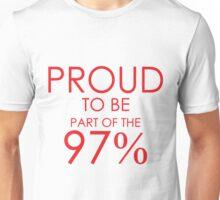 97% er Unisex T-Shirt