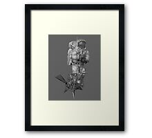 Space Man Framed Print