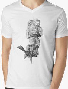 Space Man Mens V-Neck T-Shirt