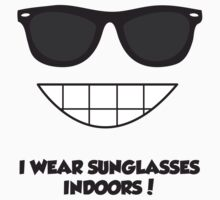 Sunglasses Indoors by TheDayNAge