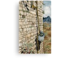 Watercolor Tribute to Arthur Rackham's Rapunzel Canvas Print