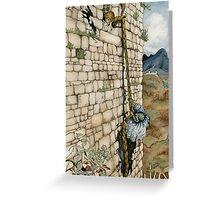 Watercolor Tribute to Arthur Rackham's Rapunzel Greeting Card