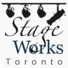 StageWorks Toronto Small Square Logo on light Shirt by marinasinger