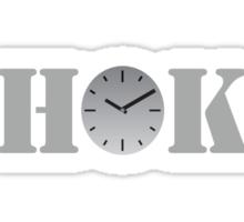 Clock Choke Sticker