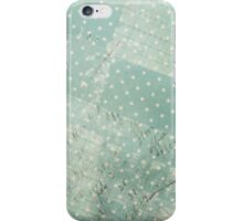 Vintage Worn Turquoise Wallpaper iPhone Case/Skin