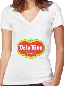 De La Riva Gaurd Women's Fitted V-Neck T-Shirt