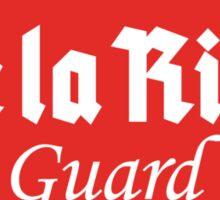 De La Riva Gaurd Sticker