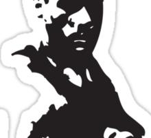 White Warrior Sticker