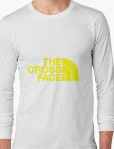 The Cross Face Long Sleeve T-Shirt