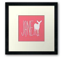 Max Caulfield - Jane Doe Framed Print