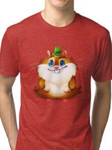 Hamster Tri-blend T-Shirt