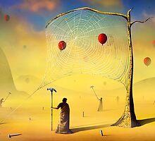A Teia e os Balões. by Marcel Caram