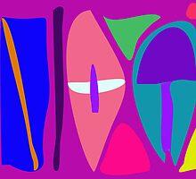 Three Shields by masabo