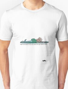 ego bathes in bliss T-Shirt
