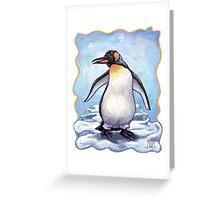 Animal Parade Penguin Greeting Card