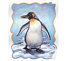 Animal Parade Penguin Poster