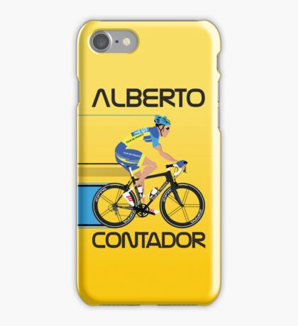 ALBERTO CONTADOR iPhone Case/Skin