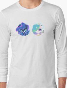 Sun and Moon Princesses Long Sleeve T-Shirt