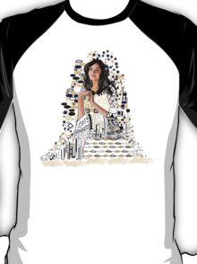 Portrait of Clara Oswin-Oswald a la Klimt T-Shirt