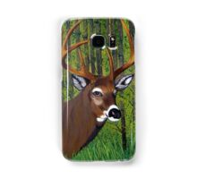 Buck by the forest Samsung Galaxy Case/Skin