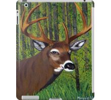 Buck by the forest iPad Case/Skin