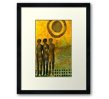 STANDING Together Forever Framed Print
