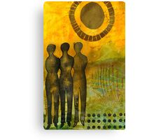 STANDING Together Forever Canvas Print