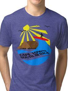 Cape Town, South Africa Tri-blend T-Shirt