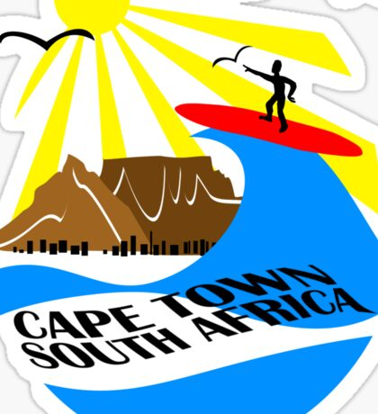 Cape Town, South Africa Sticker