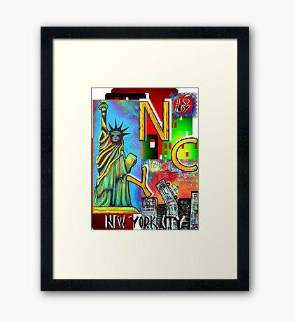 New York City - NYC Framed Print