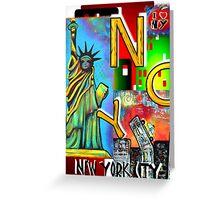 New York City - NYC Greeting Card