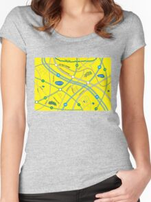 Fantasy Map Women's Fitted Scoop T-Shirt