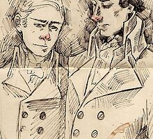 Regency Johnlock by Voodooling