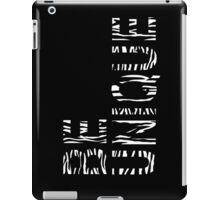 BE UNIQUE-Black iPad Case/Skin