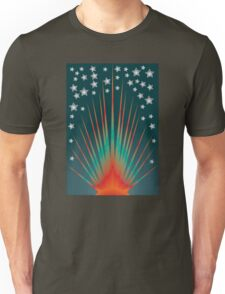 Sunburst and Stars Unisex T-Shirt