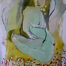 Nude with Flower by Brooke Wandall