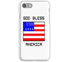 Retro 8 - bit America! iPhone Case/Skin