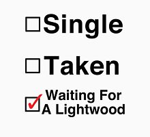 Waiting for a Lightwood Unisex T-Shirt