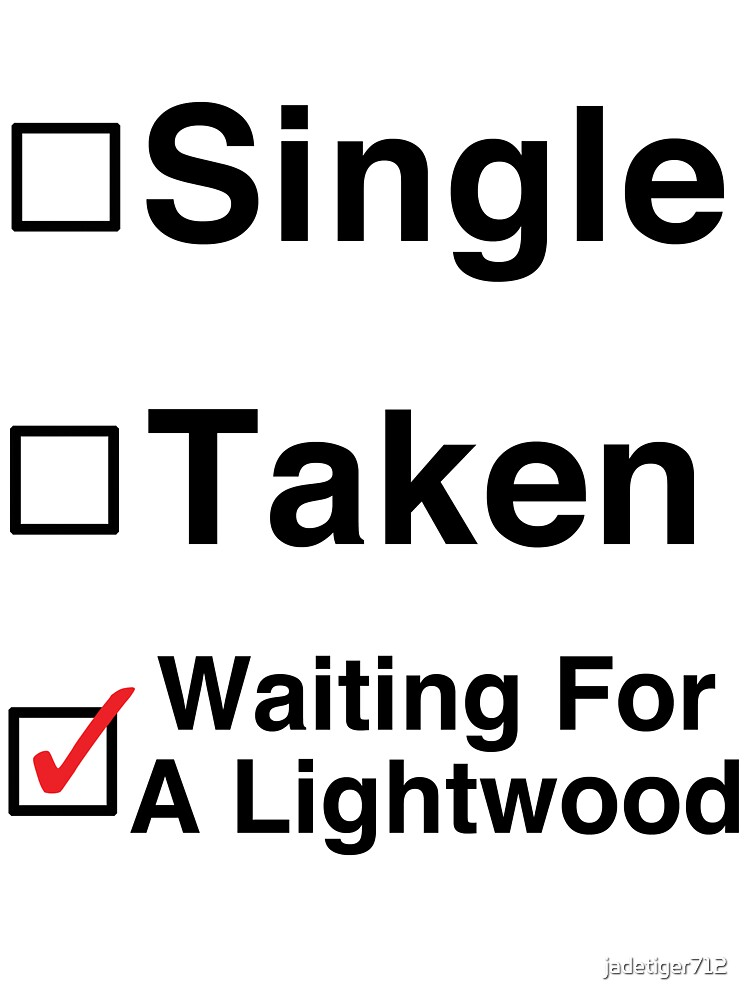 Waiting for a Lightwood by Jessica Becker