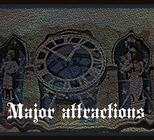 major attractions by DMEIERS