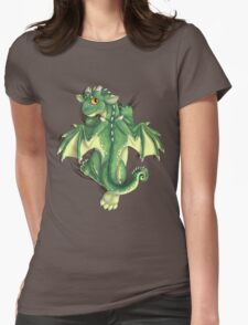 D is for Dragon! Womens Fitted T-Shirt