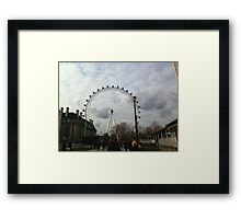 The Eye of London Framed Print