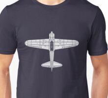 Mitsubishi A6M Zero Unisex T-Shirt
