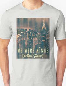We Were Kings Faded T-Shirt