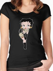 BoopBuster (Regular Edition) Women's Fitted Scoop T-Shirt