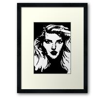 Debbie Harry: Graphic Framed Print